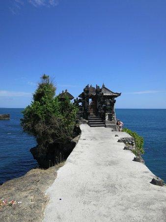 Beraban, Indonesia: Маленький храм на утесе - недалеко от основного