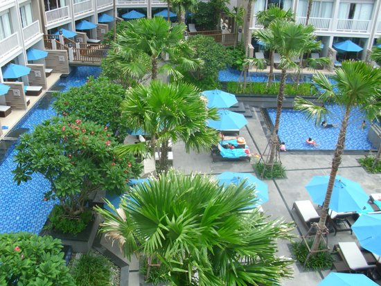 Grand Mercure Phuket Patong: View from my room
