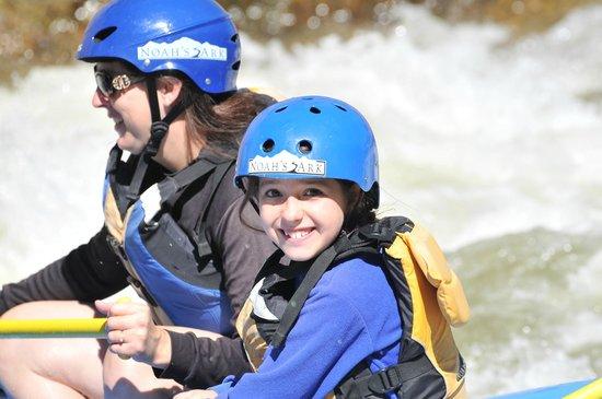 Noah's Ark Colorado Rafting & Aerial Adventure Park: All Smiles!