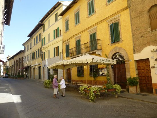 Residenza Palazzo Saloni: Town of Montalcino
