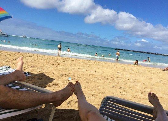 Hilton Hawaiian Village Waikiki Beach Resort: Waikiki Beach