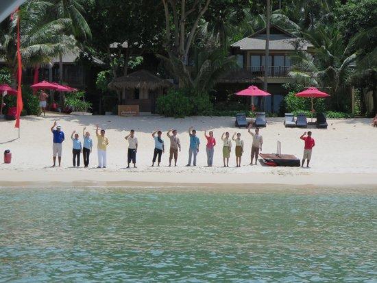 Buri Rasa Koh Phangan: Departure