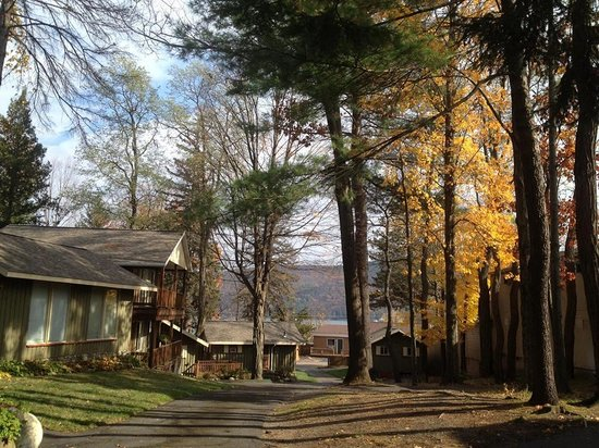 The Balsam Motel & Cottages: Cutest cabins!