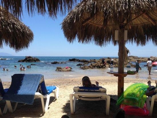 Lindo Mar Resort : The beach
