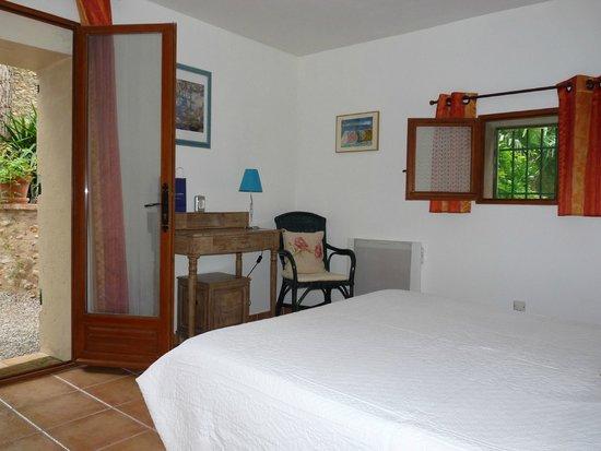 Peu del Causse: la chambre oranger