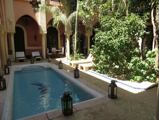 Riad le Perroquet Bleu : Pour se rafraîchir, un vrai plaisir simple