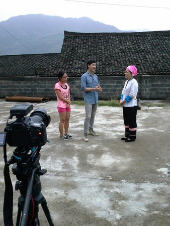 Wendy Wei Tours: Shooting TV program from Thailand