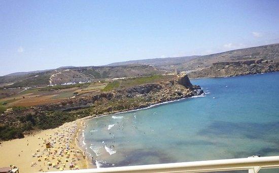Radisson Blu Resort & Spa, Malta Golden Sands: view from room