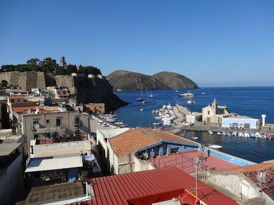 Agave Residence Lipari: Vue de la terrasse