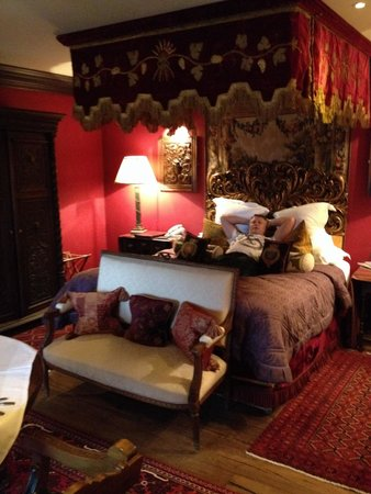 The Witchery by the Castle : Turret room