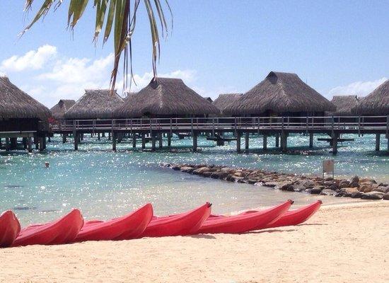 Hilton Moorea Lagoon Resort & Spa: Beach view