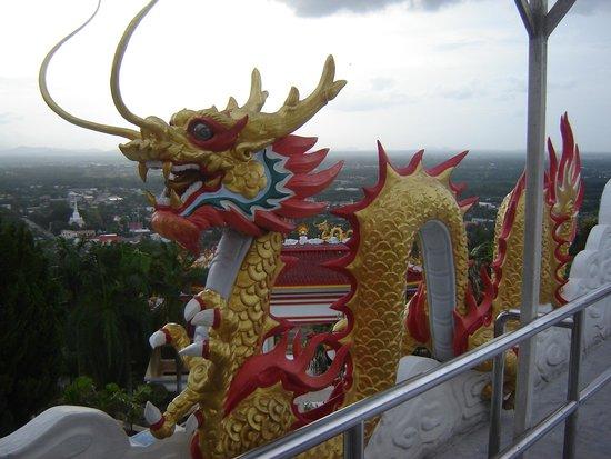 Hat Yai, Thailand: Chinese Dragon