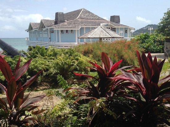 Sandals Halcyon Beach Resort : Lush gardens
