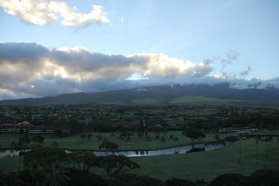 Westin Maui Resort And Spa : views from our room - ocean and mountain