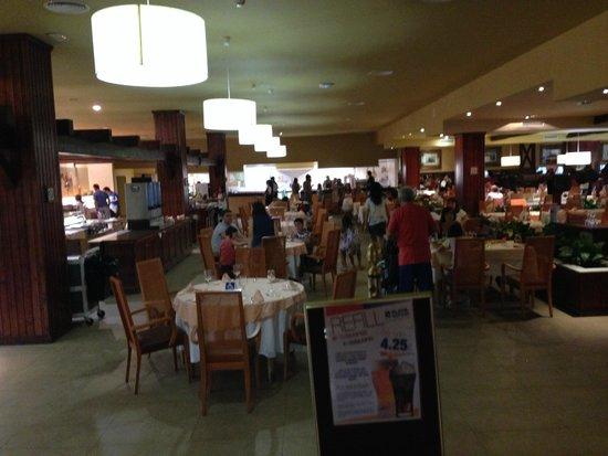 Playacartaya Spa Hotel: stołówka