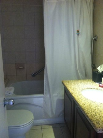 Divi Aruba Phoenix Beach Resort: Tiny bathroom