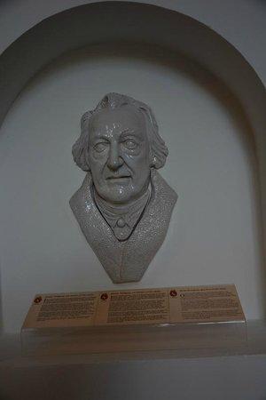 Hotel Bily Kun: Goethe visited...
