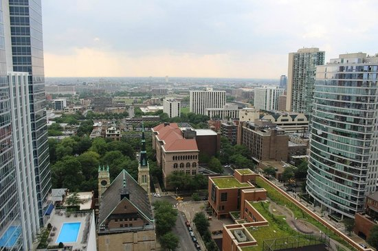 Waldorf Astoria Chicago: view from the room