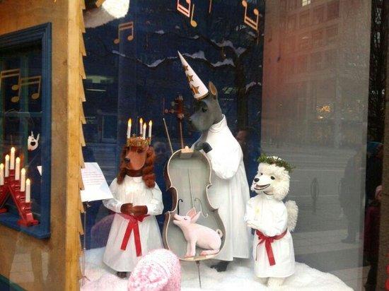 Nordiska Kompaniet (NK) : NK during Christmas