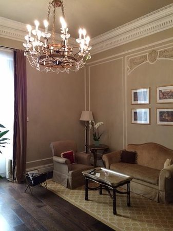 The St. Regis Rome : living riom of our 1bedroom suite