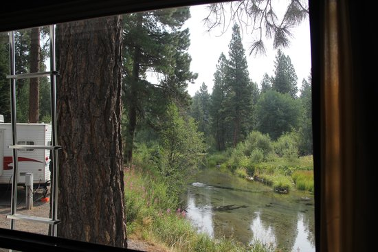 Crater Lake Resort: View from our RV