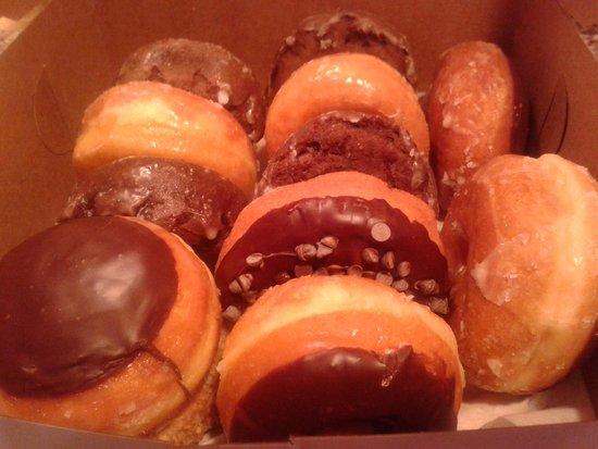 Kim's Donut and Deli: one dozen amazingly fresh donuts