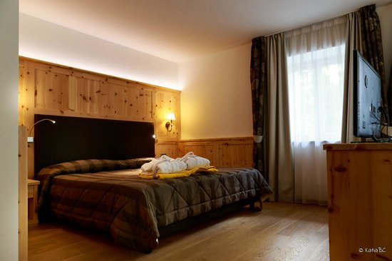 Alpenresort Belvedere Wellness & Beauty: Junior Suite con kit di benvenuto