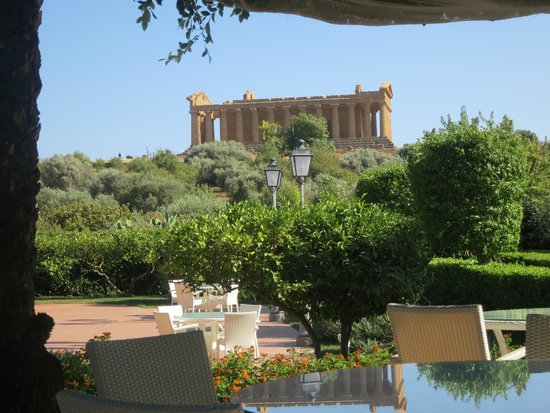 Hotel Villa Athena: View from the terrace