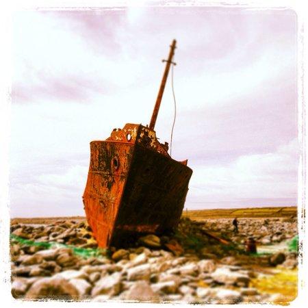 Plassey Wreck: Plassey, Inis Oírr
