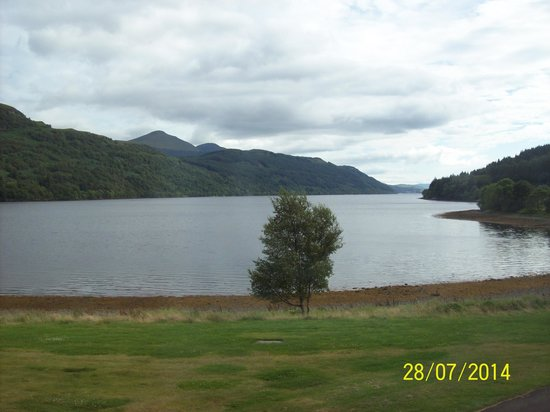 Ardgartan Hotel: view from room