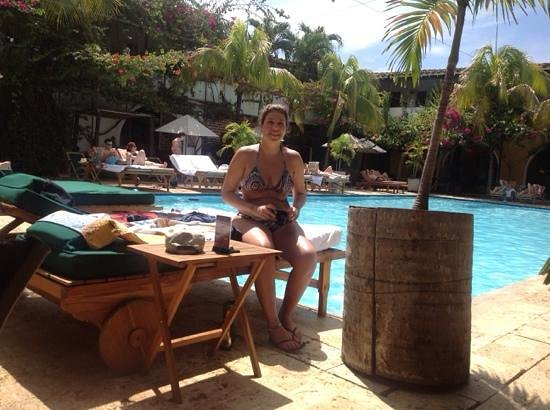 Hotel Mariscal Robledo: by the pool