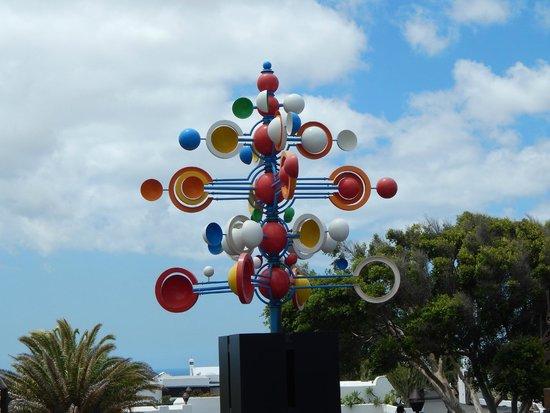 Fundación Cesar Manrique : Manrique Sculpture