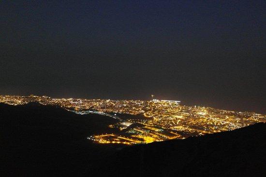 Teleferico Benalmadena: Night time view :)