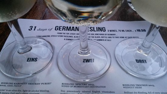 Vinoteca Farringdon: A summer without Riesling is no summer at all!