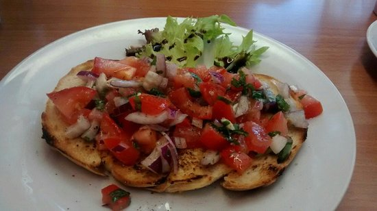 Il Caffe Roma : Bruschetta packed with flavour