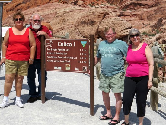 Red Rock Canyon National Conservation Area: The Boyers & Roddicks