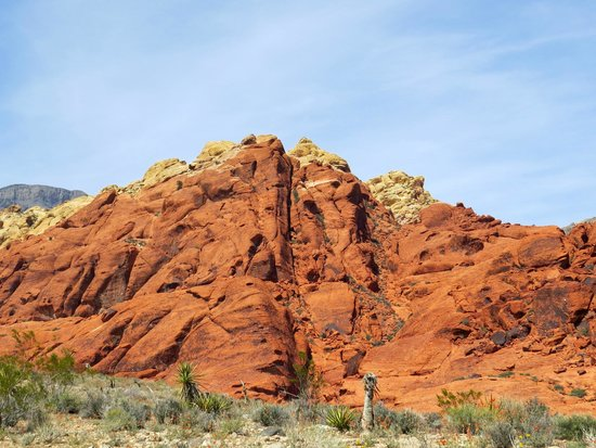 """Red Rock Canyon National Conservation Area: Beautiful rock formations along the scenic """"loop"""" drive"""