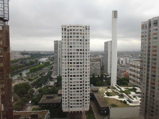 Novotel Paris Centre Tour Eiffel : View from 2509