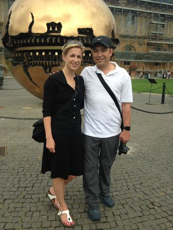 Private Tours of Rome - Vatican, Sistine Chapel and Colosseum Tours: J&S at the Vatican Museum