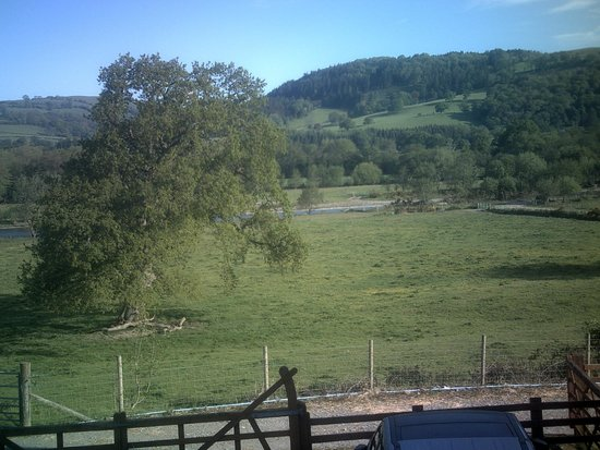 Cwmgwyn Farm Cottage : View from a back room