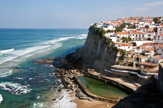 Restaurante Azenhas do Mar: Пляж