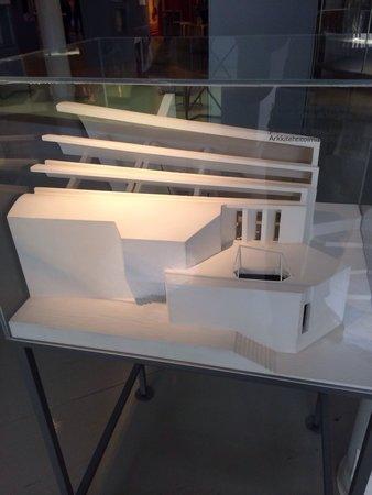 The Alvar Aalto Museum: Modellino