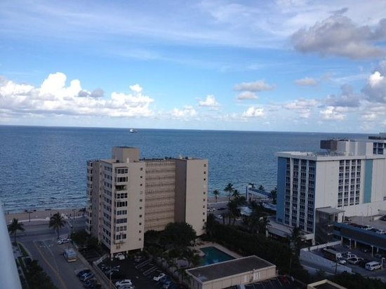 W Fort Lauderdale: View from room, tower II