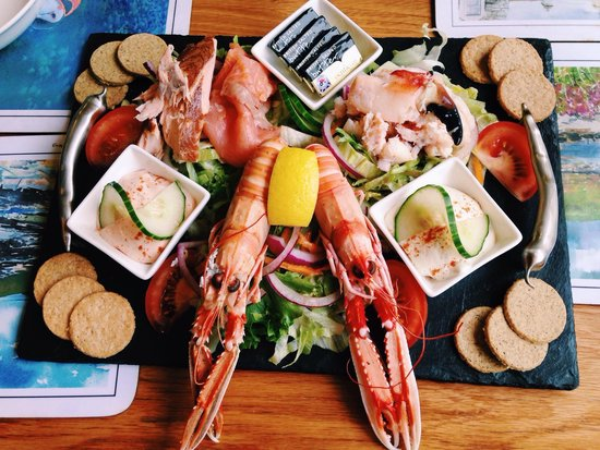 Oakwood Restaurant : Seafood trio, £25