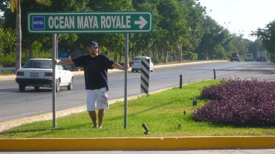 Ocean Maya Royale: l'entré