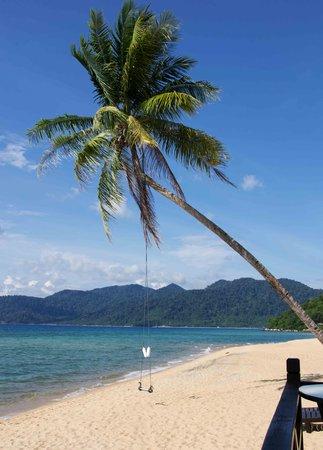 Berjaya Tioman Resort - Malaysia : Vy från baren