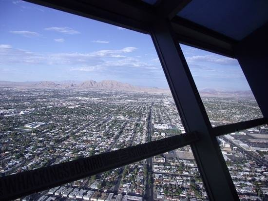 Stratosphere Tower: Highest point above the Strip