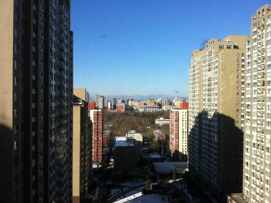 Fraser Suites CBD Beijing: Ausblick Richtung Westen