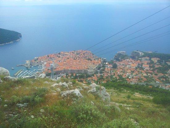 Mount Srđ: Dubrovnik dal Monte Srd