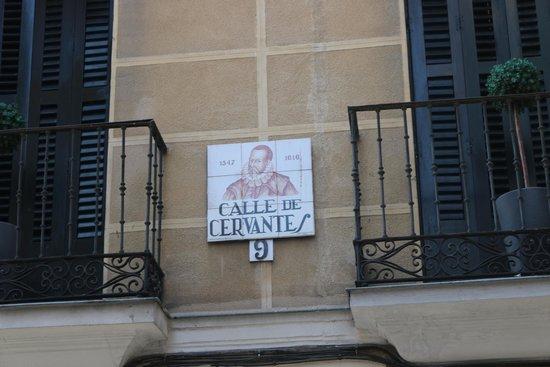 Pension Corbero: Street Name